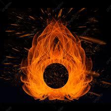 النار مجردة النيران على خلفية سوداء الخلفية خلفيات تجريدية