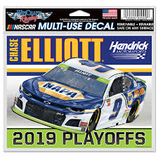 Chase Elliott Wincraft 2019 Monster Energy Nascar Cup Series Playoffs 4 X 6 Multi Use Decal