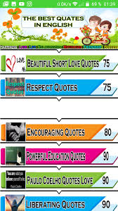 com quotes english new appstore for android