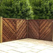 Mercia Louth 4ft High 1200mm Chevron Weave Fence Panels Elbec Garden Buildings