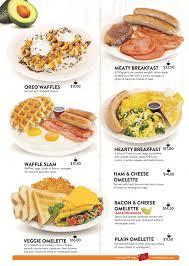 denny s menu restaurant dining