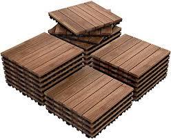 interlocking wood flooring deck decking