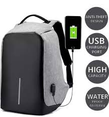 Anti Theft Backpack Generic Anti Theft Laptop Backpack, Size: 47 ...