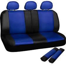 oxgord faux leather rear bench seat