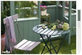 garden furniture painted