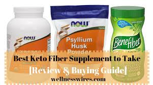 7 best fiber supplements for keto 2020