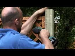 Forest Garden How To Fix Trellis Onto Fence Panel 2019 Youtube