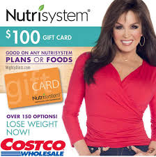 costco nutrisystem gift cards
