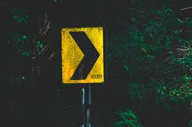 خلفية السهم المؤشر علامة الاتجاه أصفر أسود أخضر Hd