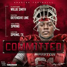 Boom! Willie Smith III DL (Update: Signed) - Cougar Football - Coogfans