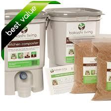 bokashi posting starter kit 2 bins
