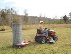 Simple 2 Wheel Fence Unroller