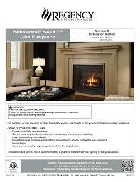 bellavista b41xte gas fireplace