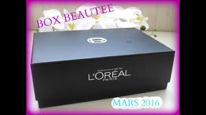 box l oréal mars 2016 you
