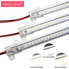 5 PCS LED Bar Ánh Sáng AC220V Độ Sáng Cao LED Ống 50 cm 72 Đèn Led SMD 2835  LED Cứng Nhắc Dải Năng Lượng tiết kiệm LED Huỳnh Quang Ống|