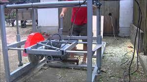 swing blade mill build in sawmills