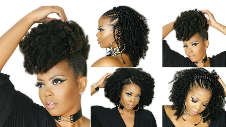 Image result for afro hair extensions on this page""