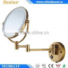 antique brass led lighted magnifier