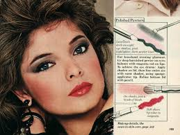 how to get the 80s makeup