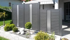Aluminum Fencing Ideas Stylish House Exterior Design