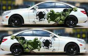 Hulk Car Door Body Graphics Vinyl Sticker Decal A Pair Fit Any Car Ebay