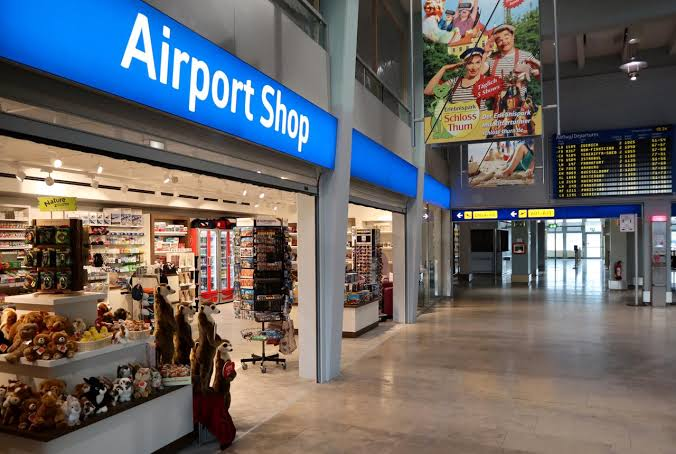 Image result for airport shops""