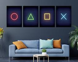 Video Game Decor Etsy