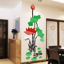 flower wall decals home decor