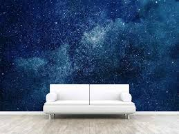 Custom 3d Photo Wallpaper Sticker Fantasy Galaxy Wall Decal Vinyl Wall Stickers Wall Decorations Living Room Poster Mural Wall Stickers Aliexpress