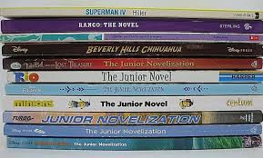 Kids LOT 11 MOVIE Themed Junior Novels Disney DreamWorks Soft ...