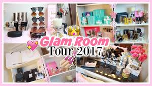 beauty room tour make up collection