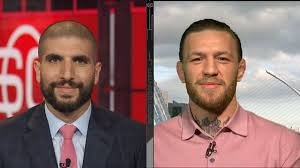 """Ariel Helwani on Twitter: """"Moments ago I spoke to @TheNotoriousMMA. It was  a 41-minute, wide-ranging interview on many different subjects, including  the video released last week in the bar and his fighting"""