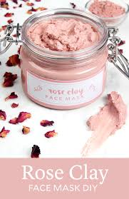 rose clay face mask diy soap queen