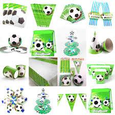 Futbol Tema De Futbol Ninos Conjunto De Decoracion Para Fiesta De