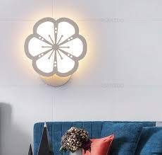 Creative Acrylic Indoor Led Wall Sconce Lamps Modern Living Room Bedroom Stairs Lights Sadoun Sales International