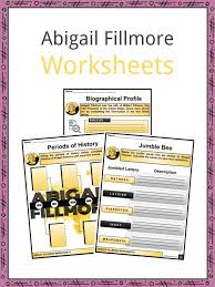 Abigail Fillmore Facts, Worksheets, Early Years & Marriage For Kids