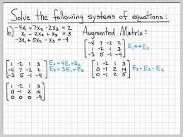 linear algebra example problems