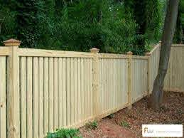 Pin By Fence Workshop On Traditional Picket Fences Wood Picket Fence Fence Design Fence Styles