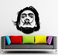 Wall Stickers Vinyl Decal Salvador Dali Celebrity Art Sculpture Painting Ig1665 753677082076 Ebay