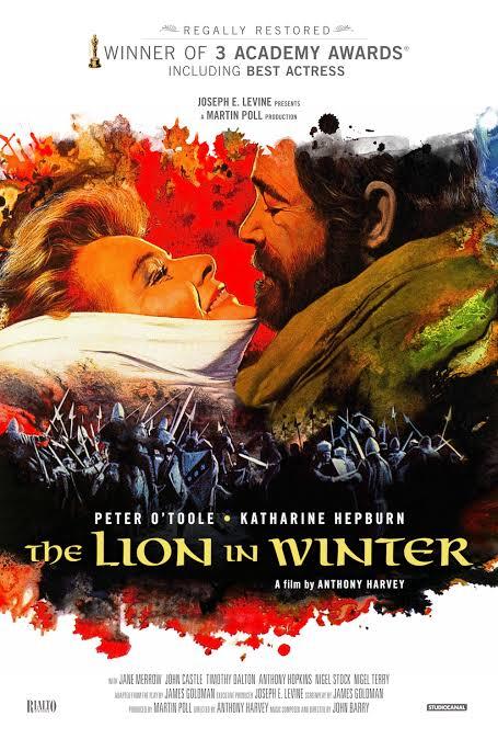 "Resultado de imagen para the lion of the winter 1968"""