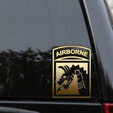 Us Army 18th Xviii Airborne Corps Veteran Decal Sticker Car Window Patch Badge Ebay