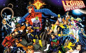 legion of superheroes wallpaper on