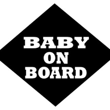Baby On Board Car Window Decal Sticker 2 Cheys Baby Store