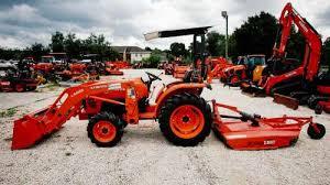 2016 kubota l3901 tractor package farm