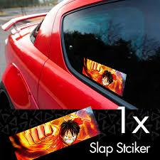 Buy One Piece V1 Monkey D Luffy Brook Pirates King Anime Manga Printed Box Slap Bumper Car Vinyl Sticker