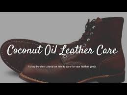 natural coconut oil leather