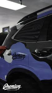 Distressed Flag Quarter Window Decal 2019 2021 Subaru Ascent Premium Auto Styling