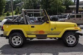 pre owned 1989 jeep wrangler yj