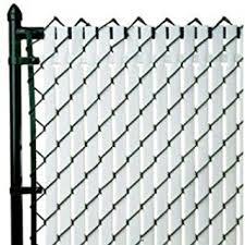 Amazon Com Pvt Top Locking Privacy Vertical Inserts 6 High Black Outdoor Decorative Fences Garden Outdoor