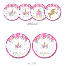 Kit Imprimible Unicornio Candy Bar Personalizado Invitacion 600 00 En Mercado Libre